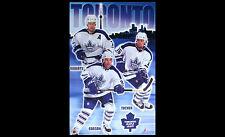 Toronto Maple Leafs Tough Guys 2001 POSTER - Gary Roberts, Darcy Tucker, Corson