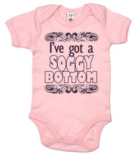 "Funny Baby Bodysuit /""I/'ve Got a Soggy Bottom/"" Great British Bake Off Baby grow"