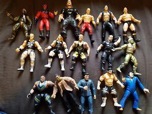 WWF Jakks OS Crunching Action Figures WWE effectuer votre Sélection