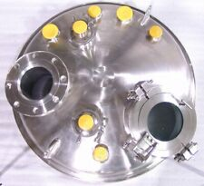 Kettle Reactor Head 325 316 Stainless Mixing Port Sight Glass Spray Balls