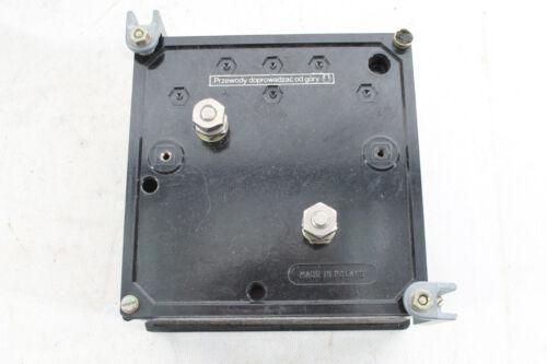 Bella vecchia Amperometro misuratore di installazione in OVP Misuratore