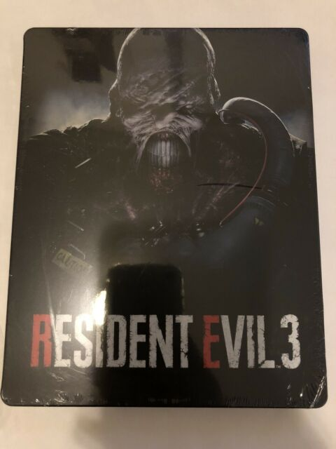 Resident Evil 3 Steelbook Case (NO GAME) Brand New Sealed