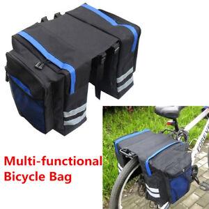 Cycling Bike Bicycle Rear Rack Seat Saddle Storage Pannier Pouch Bag Waterproof