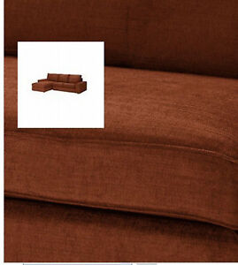 IKEA-Kivik-2-Seat-Sofa-And-Chaise-SLIPCOVERS-Loveseat-w-Chs-COVERS-Tullinge-Rust