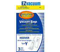 18 Hoover Windtunnel Upright Type Y Vacuum Bags By Envirocare (Micro-filtration) Vacuum Cleaner Accessories