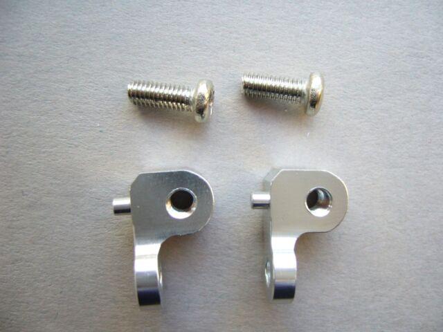 ROCK CRAWLER CNC Aluminium Rear Shock Damper Mounts for Tamiya CC01 strong. G4.