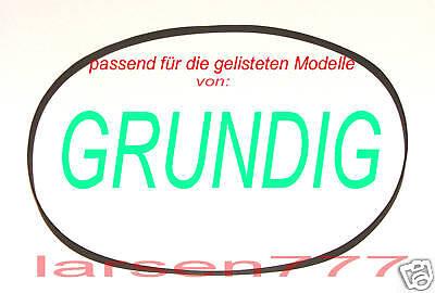 Thakker Fine Arts TT 1 Riemen kompatibel mit Grundig Fine Arts TT 1 Riemen Plattenspieler Belt Antriebsriemen