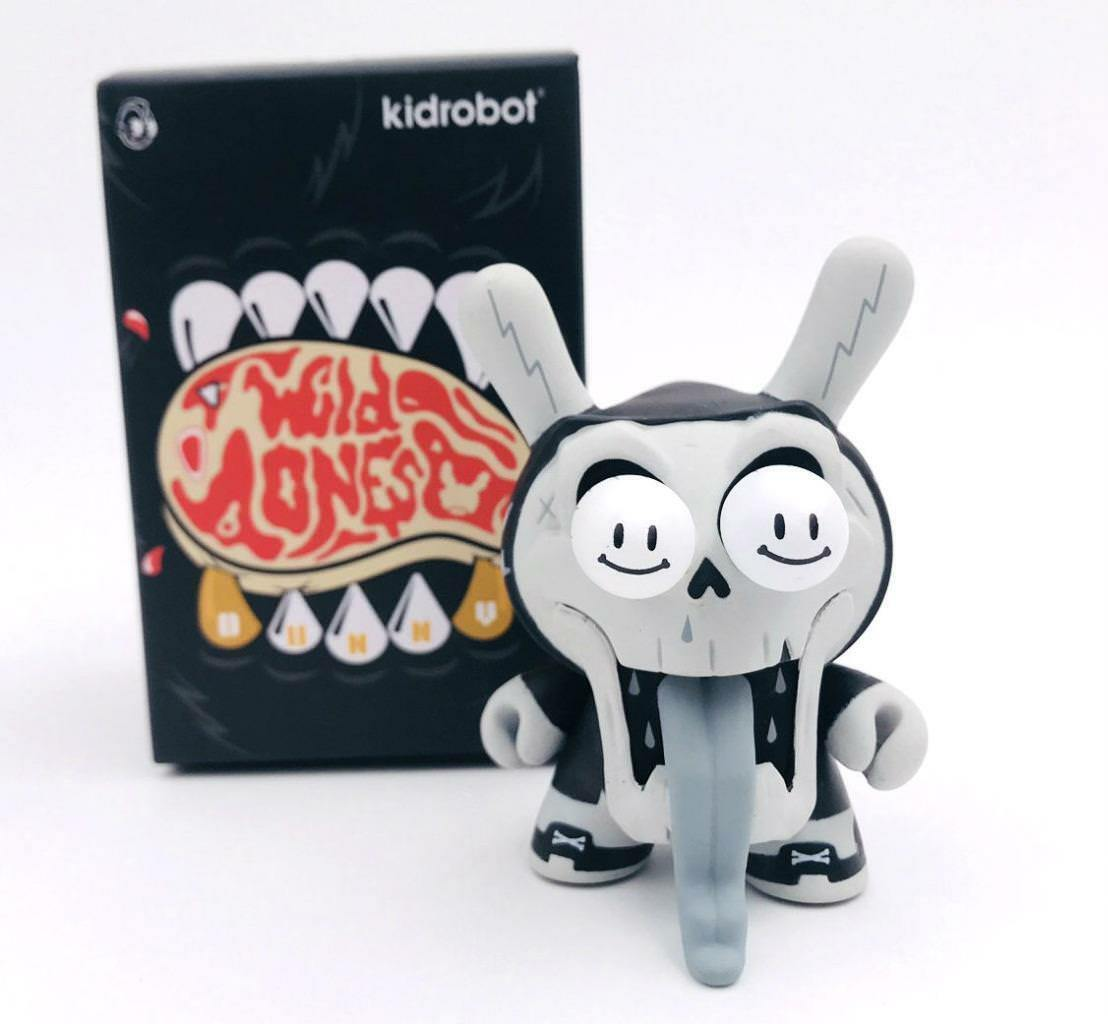 HYPE DEATH THEN WILD ONES DUNNY VINYL TOY MINI FIGURE KIDROBOT OPEN BLIND BOX