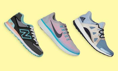 Women's athletic shoes from $24.99.