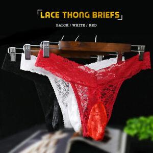 Red Thong Panties For Him HD