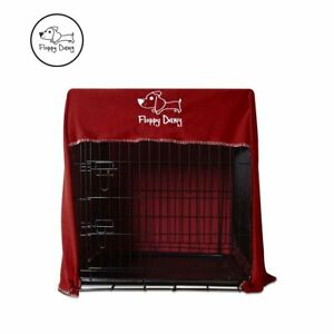 OFFICIAL-Floppy-Dawg-Innovative-Dog-Crate-Cover-Fits-Large-42-Crate-in-Red