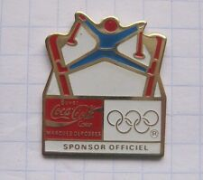 FRANCE / OLYMPIA / COCA-COLA / SPONSOR / SKISPRUNG   ....Sport Pin (134f)