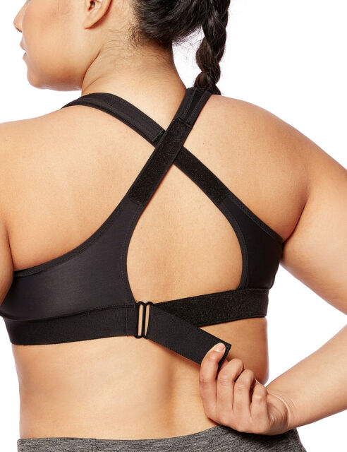 DELIMIRA Womens High Impact Full Support Contour Underwire Bounce Control Plus Size Sports Bra