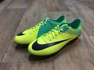 New!!! Nike Mercurial Vapor VII SG Volt Imperial Green Size 7 US  3a33cb24ecc8