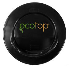 """EcoTop BLACK 3"""" in. Lid Top Cup Cover Travel Coffee Mug Spill-Proof Eco-Friendly"""