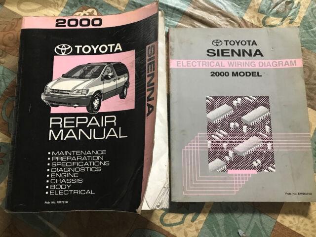 Toyota Repair Manual Sienna Electrical Wiring Diagram 2000