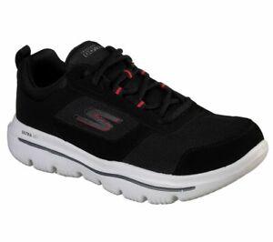 Details zu Skechers Go Walk Mens GO WALK EVOLUTION ULTRA ENHANCE Sneakers Herren Schwarz