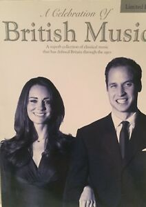 """a Celebration Of British Music"" Piano Music Book-extrêmement Rare-neuf En Promotion!!!-afficher Le Titre D'origine RéSistance Au Froissement"