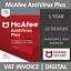 Indexbild 1 - McAfee AntiVirus Plus 2021 | 10 Devices | 1 Year | PC/Mac/Android
