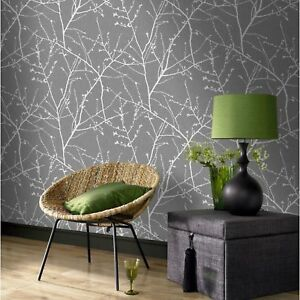 superfresco easy paste the wall textile light grey