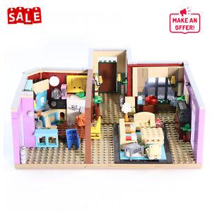 Monica's Apartment MOC-29532 Building Blocks Set Toys for Set 21319 Central Perk