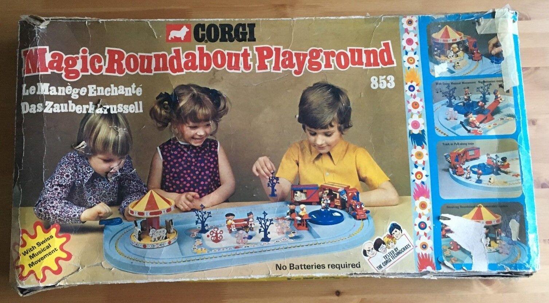 VINTAGE   RETRO CORGI 853 - MAGIC ROUNDABOUT PLAYGROUND