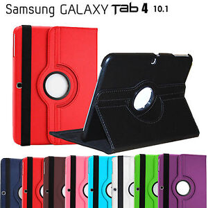 Rotate-Leather-Cover-Flip-Case-for-Samsung-Galaxy-Tab-4-10-1-T530-T531-T535
