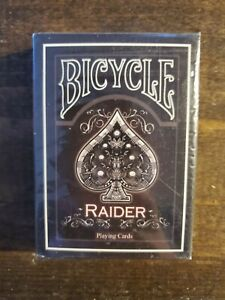 Bicycle-Black-Raider-Playing-Cards-Limited-Edition-SEALED