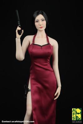 "1:6 Clothes Accessory cheongsam Dress Model For 12/"" Female Figure Type C"