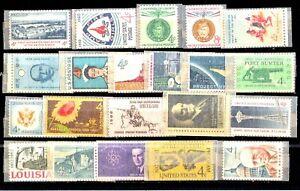 Stati-Uniti-USA-Lotto-da-55-Francobolli-Stamps-Nuovi-perfetti