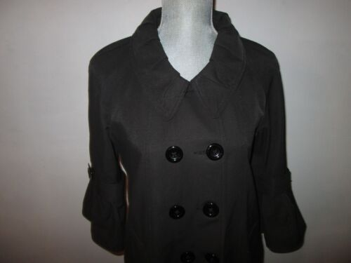 Women's Coat C Black gange Resistant Breasted Water M to Double Luce slidt 1q5wq0B
