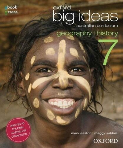 1 of 1 - Oxford Big Ideas Geography / History 7 Obook/Asses Digital Book Code