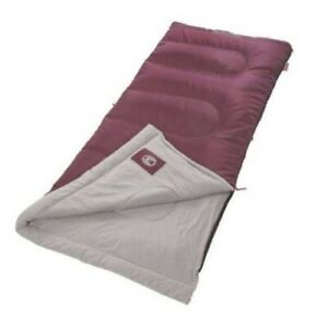 Details About Coleman Alpine 50 Degree Sleeping Bag Bed Outdoor Gear Camping Hiking