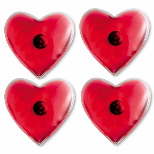 Set of 4 Reusable Heart Shape Heat Pad//Main Warming Ski//Handwarmers Warmth
