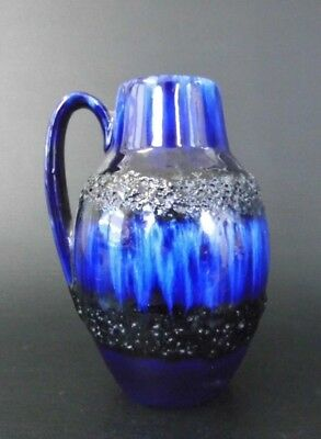 Genial Scheurich Vase 414-16 Fat Lava Ära 60er 60s 70er 70s Design West German Pottery StäRkung Von Sehnen Und Knochen