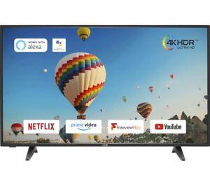 "LOGIK L55UE20 55"" Smart 4K Ultra HD HDR LED TV - Currys"