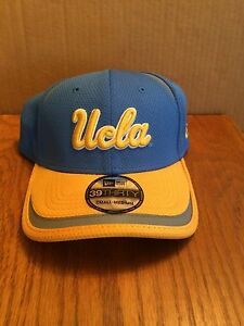 reputable site 89a0f 15ff3 Image is loading UCLA-Bruins-New-Era-39Thirty-Strip-Stretch-fit-