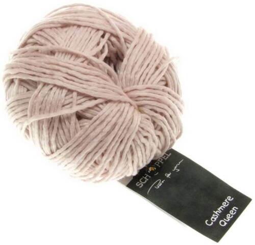 Cashmere Queen Blassrosa Schoppel Wolle