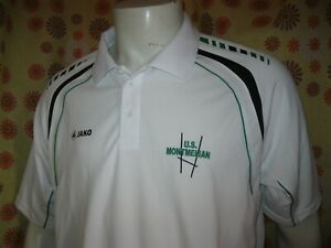 Ancien Polo Maillot Jako Union Sportive Us Montmelian Rugby Xxl Jersey Shirt Xv Pure Blancheur