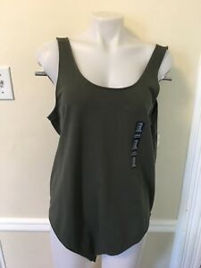 Gap Women`s Fitted Bodysuit Gray  L XL  Sizes Top NWT