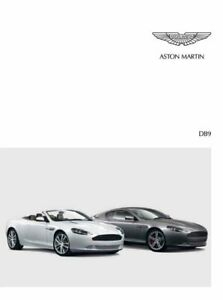 27pgs *SEE DESCRIPTION* Aston Martin 2016 Softback Range Brochure