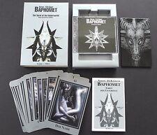 H.R.Giger Baphomet Tarot of the Underworld Cards Deck KK Records Epilepsy CD