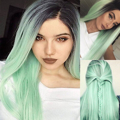 Where To Buy Long Green Wigs