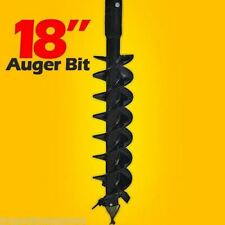 18 X 48 Auger Bit For Post Hole Auger 2 Hex Drive For Skid Steer Loader
