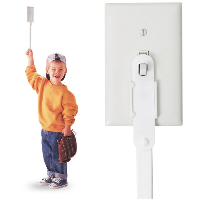 NEW KidSwitch Light Switch Extender 3-Pack - FREE SHIPPING