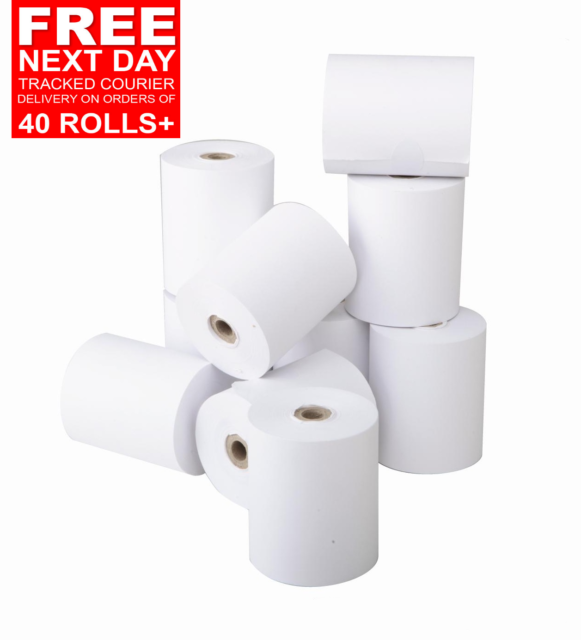 best  prices Barclay Card 57 x 40mm Credit card rolls chip /& Pin rolls