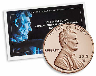 2019-W BU Premium Lincoln Shield 3rd Release Sealed With Coa