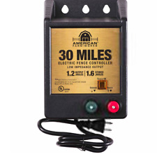 American Farmworks 30 Mile Ac Powered Low Impedance Charger