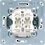 Jung LS990 LS 990 WW Steckdose Schalter Wippe Rahmen Auswahl Alpinweiss
