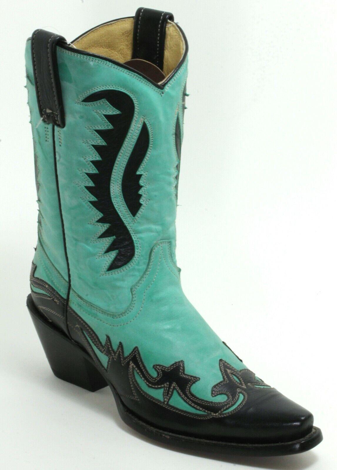 266 Cowboystiefel Westernstiefel Texas Catalan Style Fashion American Bull 36
